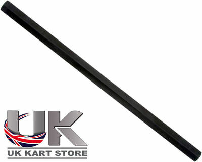 Track / Tie Rod 255mm x M8 Hex Black UK KART STORE