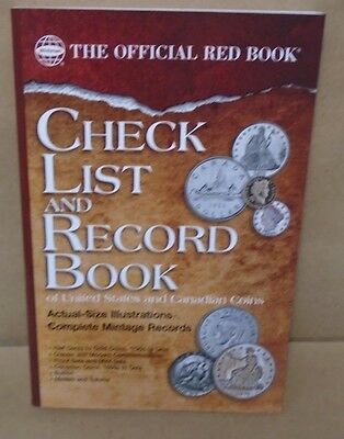Checklist & Record Book of United States & Canadian Coins, The Official Red Book