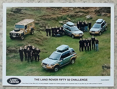 LAND ROVER FIFTY 50 CHALLENGE Colour Press Photograph 1997-98 #RGS/0798/997