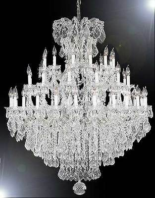 Maria Theresa Large Entryway Foyer Chandelier Crystal Chandeliers Lighting 52x60