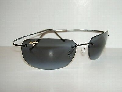 Brand NEW Authentic  MAUI JIM  KAPALUA Sunglasses  502-02  POLARIZED Grey Lenses