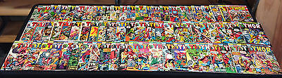 Mighty Thor Lot #170-298! Silver Age-Bronze Age (3.5-8.0) Wh
