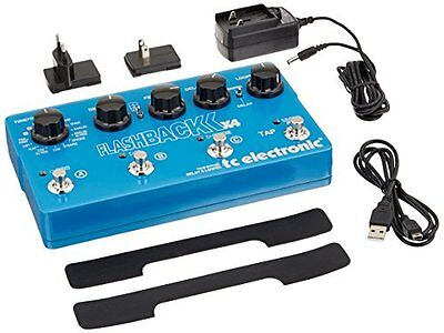 TC Electronic*FLASHBACK  X4* Delay/Looper Effects Pedal FREE 2 DAY SHIP NEW