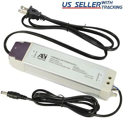 ABI 12V 45W Power Supply Driver TRIAC Dimmable Transformer for LED Puck Light