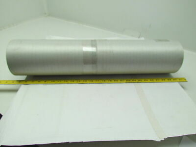 "1 Ply Black Slip Top Nylon Backed Conveyor Belt 26"" Wide 18Ft Long 0.075"" Thick"