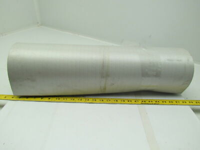 "1 Ply Black Slip Top Nylon Backed Conveyor Belt 24""Wide 28Ft Long 0.075"" Thick"