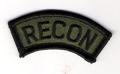 Military Patch- U. S, Army Recon Tab Subdued