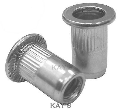 Aluminium Rivnuts Threaded Blind Rivet Nuts Open End Nutsert M3 M4 M5 M6 M8 M10