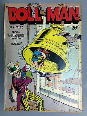 Doll Man (1949) # 23  1St Appearance Of The Minstrel Quality Bill Ward Torchy