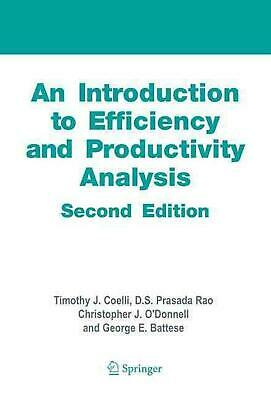 An Introduction to Efficiency and Productivity Analysis by Tim Coelli (English)