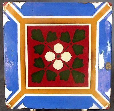 Very Rare & Quite Early A.w. Pugin Designed Minton Tile