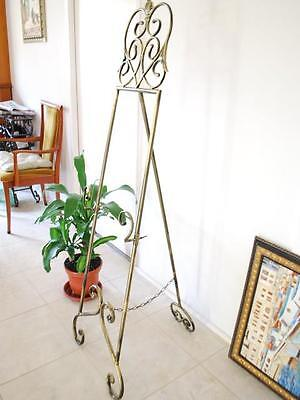 Elegant French Style Iron Scroll Easel Display Wedding BRS002