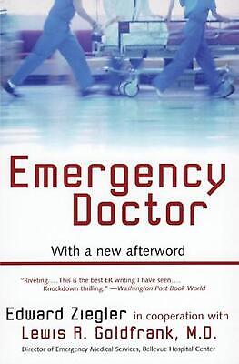 Emergency Doctor by Edward Ziegler (English) Paperback Book Free Shipping!