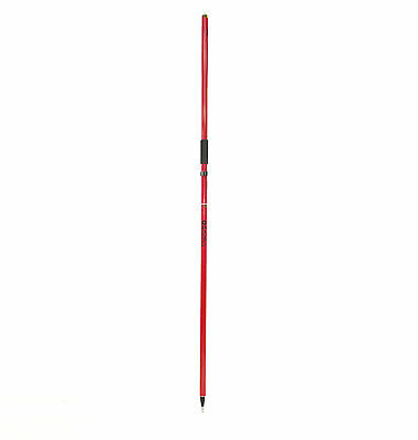 AdirPro Red GPS 2m Rover Rod RTK Pole Surveying GPS Leica Sokkia Trimble Topcon