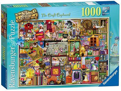 Ravensburger Puzzle*1000 Teile*colin Thompson*the Craft Cupboard*rarität*ovp