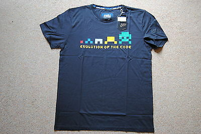 Joystick Junkies Evolution Of The Code Black T Shirt Bnwt Official Gaming Game