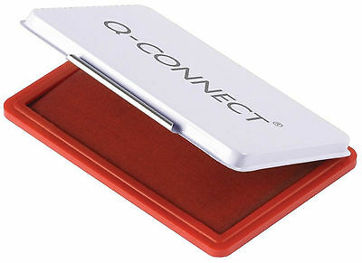 Q-CONNECT KF16316 Stempelkissen 9 x 5,5cm rot