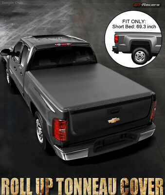 Lock & Roll Soft Tonneau Cover 2014-2017 Chevy Silverado/gmc Sierra 5.8 Ft Bed