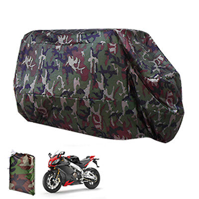 Motorcycle Waterproof XL Outdoor Motor Bike Scooter Dust Rain Cover Large