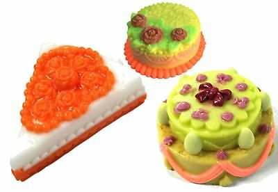 CAKE SILICONE MOULD For Soap, candles: DIY Wedding, Birthday, Slice YOU CHOOSE