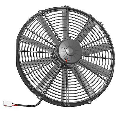 "Spal High Performance Electric Cooling Fan - 10 Blade - Pulls Air - 16"" -"