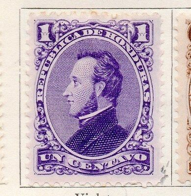 Honduras 1878 Early Issue Fine Mint Hinged 1c. 154414