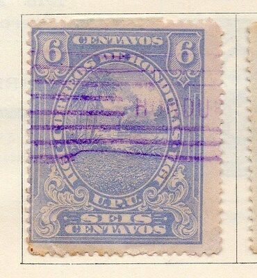 Honduras 1911 Early Issue Fine Used 6c. 154529