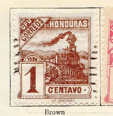 Honduras 1898 Early Issue Fine Used 1c. 154505