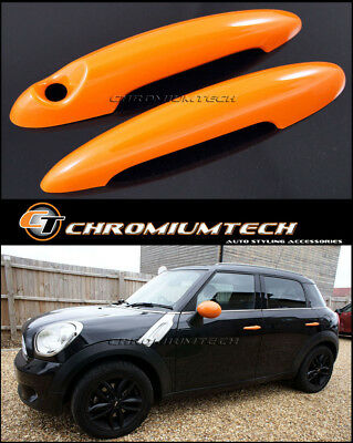 MINI Cooper/S/ONE R61 Paceman R58 Coupe R59 Roadster ORANGE Door Handle Covers