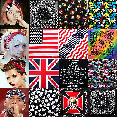 NT BANDANA Paisley COTTON Head Wrap Bandanna Head Wrap New Womens Summer Scarf
