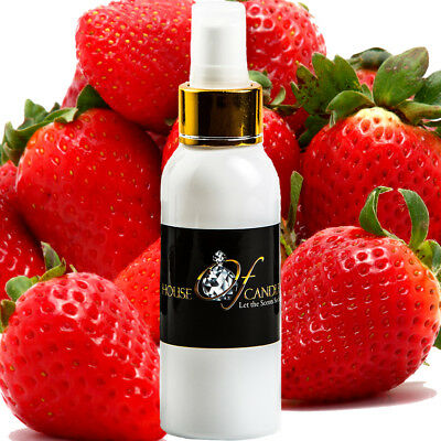 FRESH STRAWBERRIES Body Spray Mist EXTRA STRONG TRIPLE SCENTED