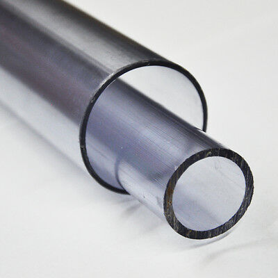 PVC Rohr Druckrohr Teichbau Aquaristik Fitting Pool transparent 500-1500mm