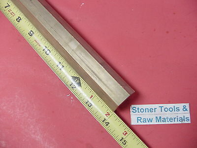 "3/4"" C360 BRASS HEX BAR 14"" long New Lathe Bar Stock .75"" Flat to Flat 1/2 Hard"