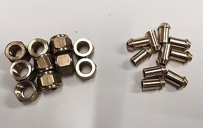 Model Engineering/Live Steam Pipe nipples and Union Nuts.