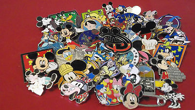 Disney Trading Pins_Lot Of 50 Pins_Fast Free USPS Mailing_No Duplicates