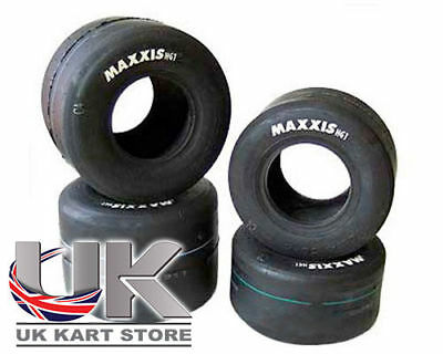 Maxxis HG1 Racing Endurance Slicks Set UK KART STORE