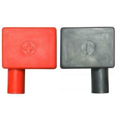 New Car Battery Clamp Terminal Insulation Right Left Cover Positive & Negative