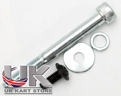 Rotax Max 2012 15 Silver Radiator Bracket Bolt Kit UK KART STORE