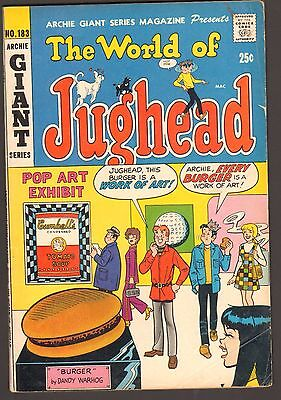The World Of Jughead #183 (5.0) Andy Warhol Cover