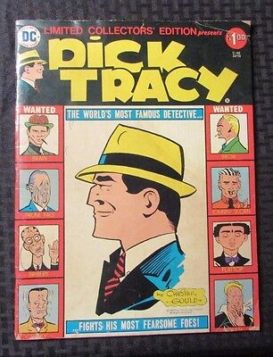 1975 DC Marvel TREASURY C-40 DICK TRACY Chester Gould VG