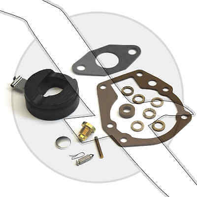 Carb Repair Kit with Float 2hp/3hp/4hp Johnson Evinrude 398532 Sierra 18-7043