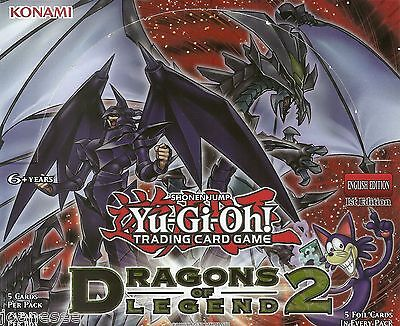 Dragons of Legend 2 DRL2 Yu-Gi-Oh Cards Take Your Pick 1st Edition NEAR MINT New