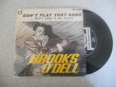 Vinile 45 Giri - Brooks O' Dell - Don't play that song... don't ... - Durium