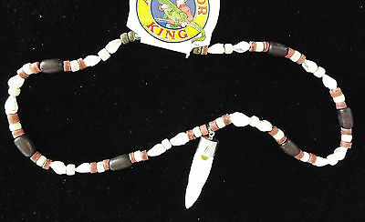 Alligator Tooth and Shell Necklace Swamp People Gator Special Edition Bayou 19