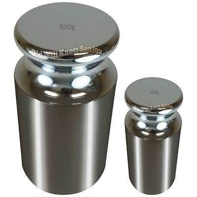 600 Gram (One 500 + One 100) Class M2 Calibration Weight OIML Calibrate Scale g