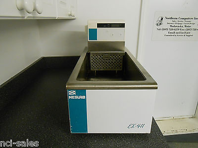 Neslab Ex-411 Heated 800 Watt Circulating Water Bath.