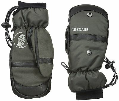 2015 NWT YOUTH GRENADE PATROL GLOVES/MITTENS $60 charcoal waterproof breathable