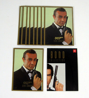 Lot of (10) 1996 Inkworks James Bond Connoisseur's Coll Vol 2 Promo Card (SD2)