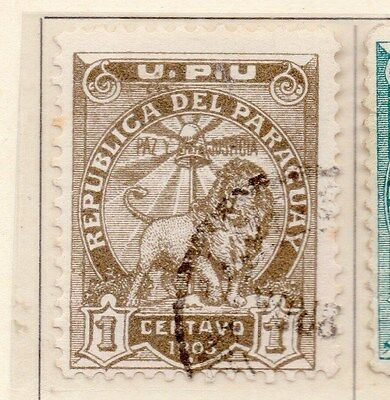 Paraguay 1903 Early Issue Fine Used 1c. 154894