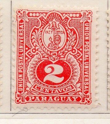 Paraguay 1887 Early Issue Fine Mint Hinged 2c. 154843